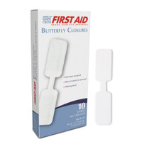 """Dukal™ Butterfly Closures Adhesive Bandages 13/32"""" x 1-13/16"""""""
