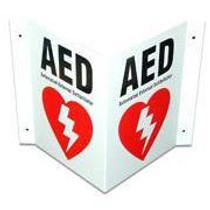 Defibtech AED Signage