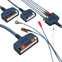ConMed D-Series Individually Shielded 5-Lead ECG Safety Cable System