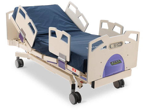 Stryker Bari 10A Bariatric Hospital Bed 1000 LB patient weight - Refurbished
