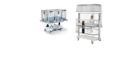 Pediatric crib stretchers