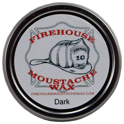 Firehouse Moustache Wax - Dark Wax, 1 oz. tin