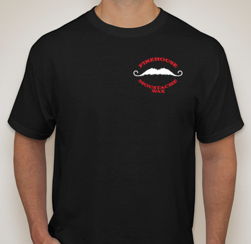 Front of black tshirt.