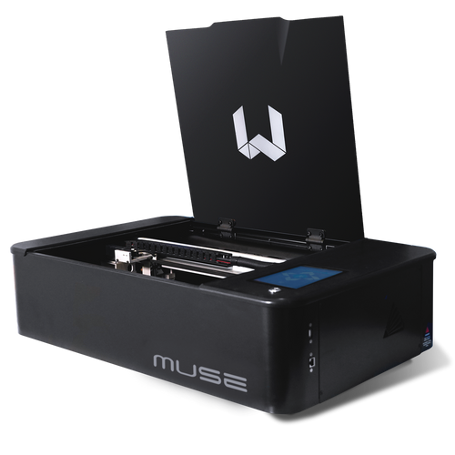 FSL Muse 3D Autofocus Desktop CO2 Laser Cutter Bundle