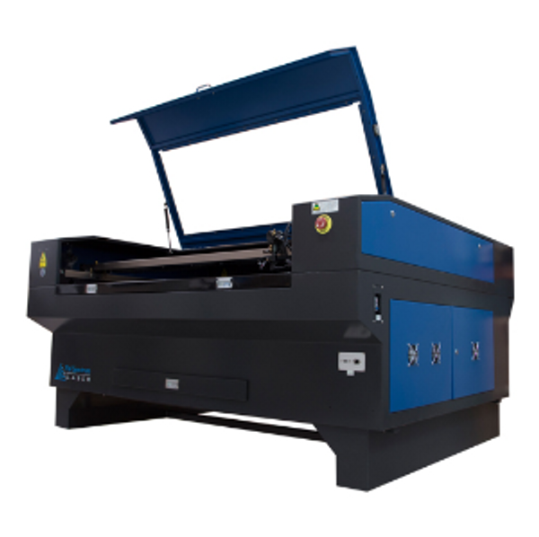 """Dual Head CO2 Laser 51""""x34"""" With Motorized Z Table"""