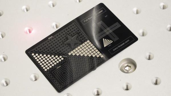 Galvo fiber laser sample