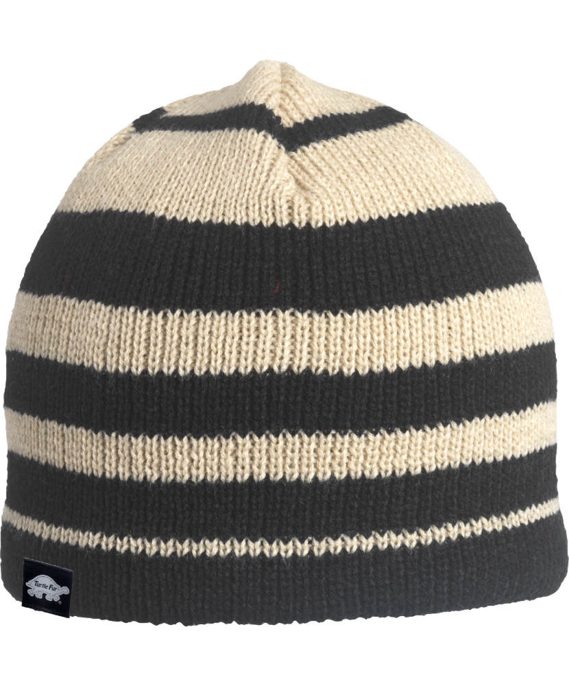 Turtle Fur Kid's Fat Hat Striped Beanie