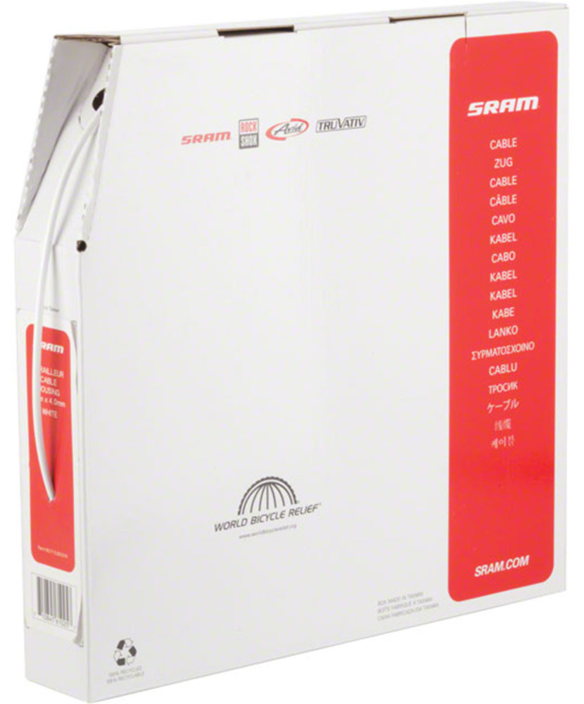SRAM Derailleur Cable Housing White 4mm