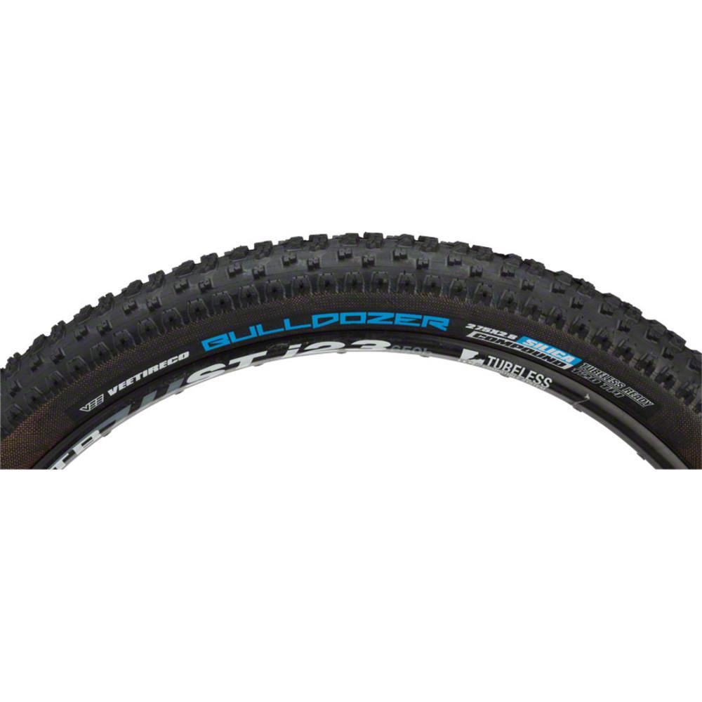 Vee Tire Co. Bulldozer Tire - 27.5in. x 2.8in. , Fat Clincher, Folding, 120tpi, Silica