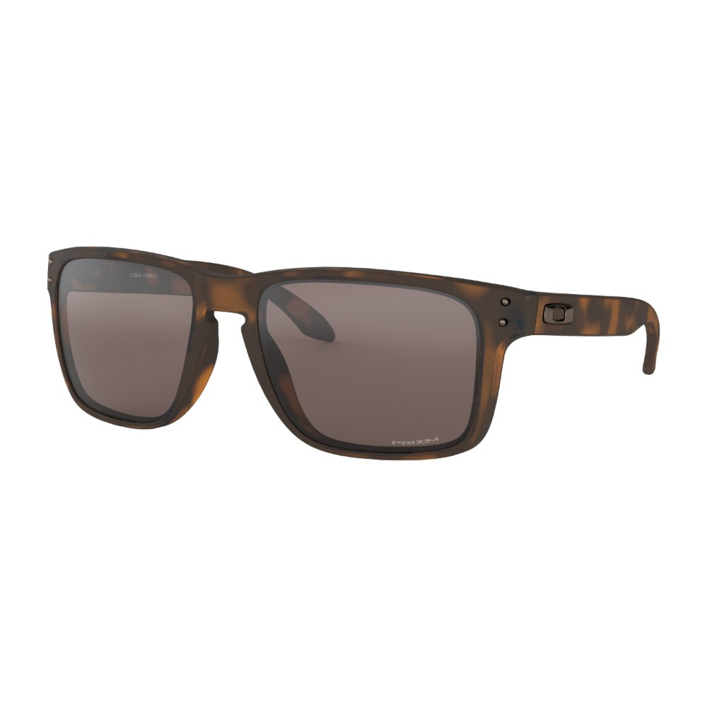 Oakley Holbrook XL Sunglasses - Matte Brown Tortoise w/ PRIZM Black