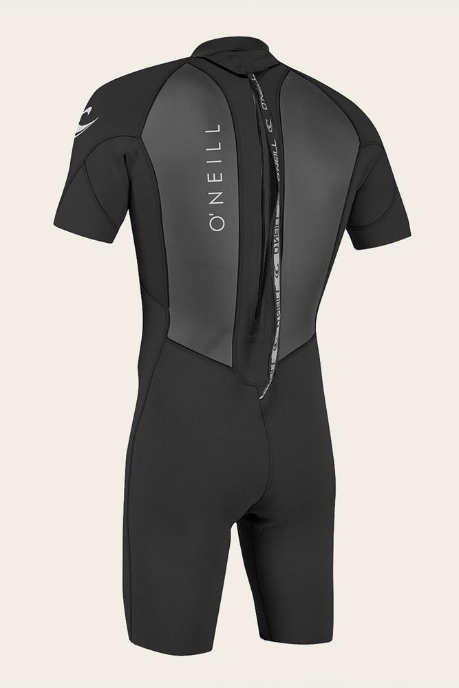O'Neill Mens Reactor II 2mm Back Zip Short Sleeve Spring Wetsuit
