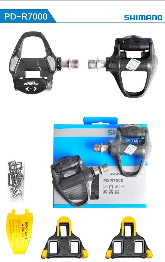Shimano 105 PD-R7000 SPD-SL 105 Pedal w/Cleat