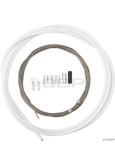 Shimano PTFE Road Shift Cable & Hsg Set- Wht 2013