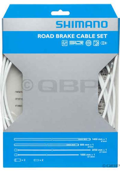 Shimano PTFE Road Brake Cable & Hsg Set- Wht 2013