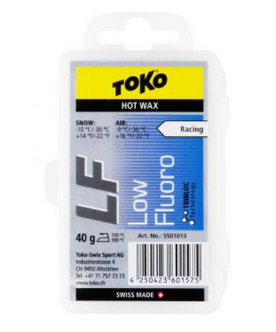 Toko Tribloc Low Fluoro Hot Wax Blue 40g