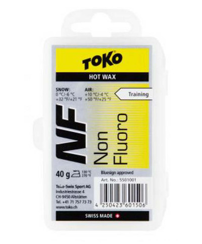 Toko Non Fluoro Hot Wax Yellow 40g