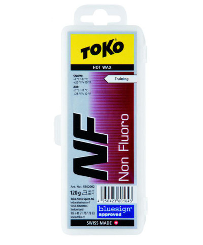 Toko Non Fluoro Hot Wax Red 120g