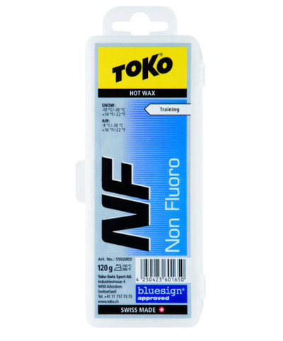 Toko Non Fluoro Hot Wax Blue 120g