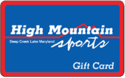 High Mountain Sports Gift Card