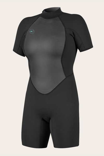 O'Neill Women's Reactor II 2mm Back Zip Short Sleeve Spring Wetsuit
