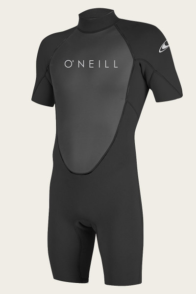 O'Neill Mens Reactor II 2mm Back Zip Short Sleeve Spring Wetsuit