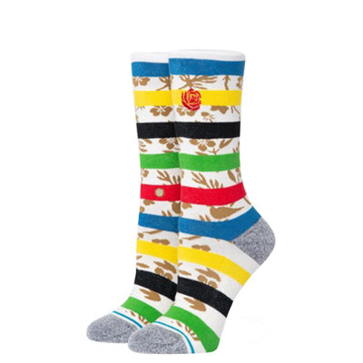 Stance Womens Petal Power Crew Sock