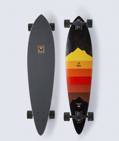 Arbor Performance Artist Fish 37 Complete Skateboard