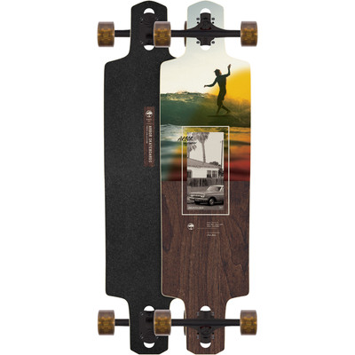 Arbor Performance Photo Dropcruiser 38 In. Complete Skateboard