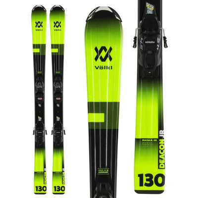 Volkl Jr. Deacon Ski w/ Marker vMotion 4.5 Binding 2021