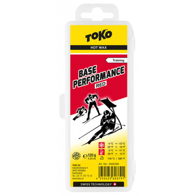Toko Base Performance Hot Wax Red 120g