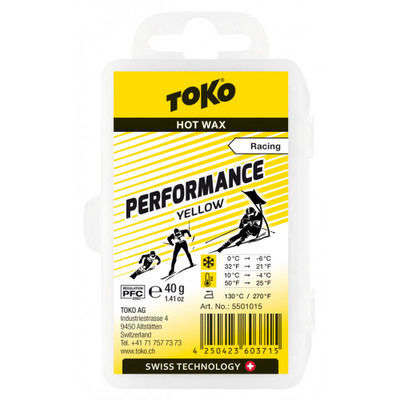 Toko Performance Hot Wax Yellow 40g