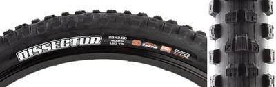 Maxxis Dissector Tire -29 x 2.6, Tubeless Fold Black3CMaxxTerra, EXO+Wide Trail