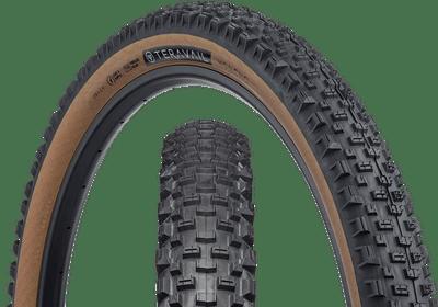 Teravail Honcho Tire - 27.5 x 2.4, Tubeless, Folding, Tan