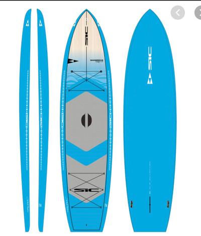 Sea Blue/Wood