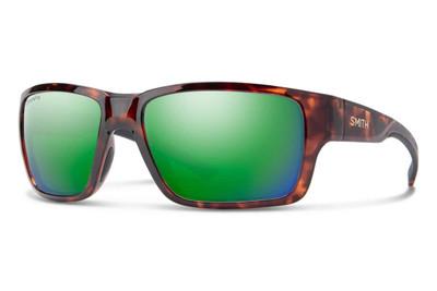 Smith Outback Sunglasses - Tortoise/ChromaPop Polarized Green Mirror