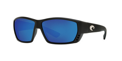 Matte Black w/ Blue Mirror 580P