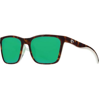 Shiny Tortoise/White/Seafoam w/Green Mirror