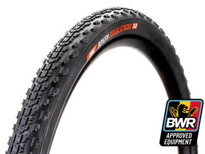 IRC Tire Boken Double Cross Tire - 700 x 42, Tubeless, Folding, Black