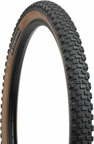Teravail Honcho Tire - 29 x 2.4, Tubeless, Folding, Tan, Light and Supple pple