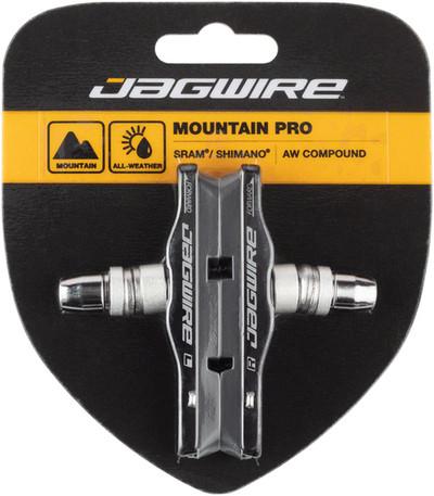 Jagwire Mountain Pro Brake Pads Threaded Post, Black