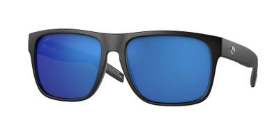Matte Black  w/Blue Mirror