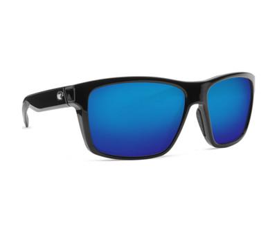 Shiny Black w/Blue Mirror Lens