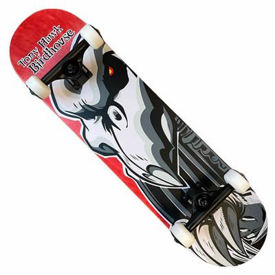 Birdhouse Hawk Falcon 2 8.0 Complete Skateboard-Red
