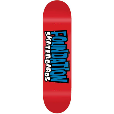 Foundation From the 90's Deck 8.0 Red