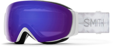 White Shibori Dye/ Violet Mirror