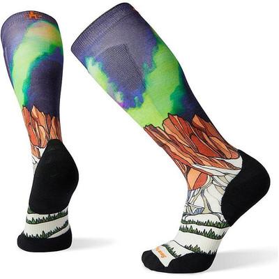 Smartwool Men's Ski Targeted Cushion Homechetler Print OTC Sock