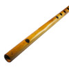 """17"""" Inches Long Handcrafted Bamboo Wooden Flute Indian Bansuri Key Note 'G'  Side Mouth - Image 1"""