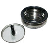 Milton Clarion Thermo Steel, 1500 ML Clear Lid, Hot Pot, Insulated Casserole - Image 2
