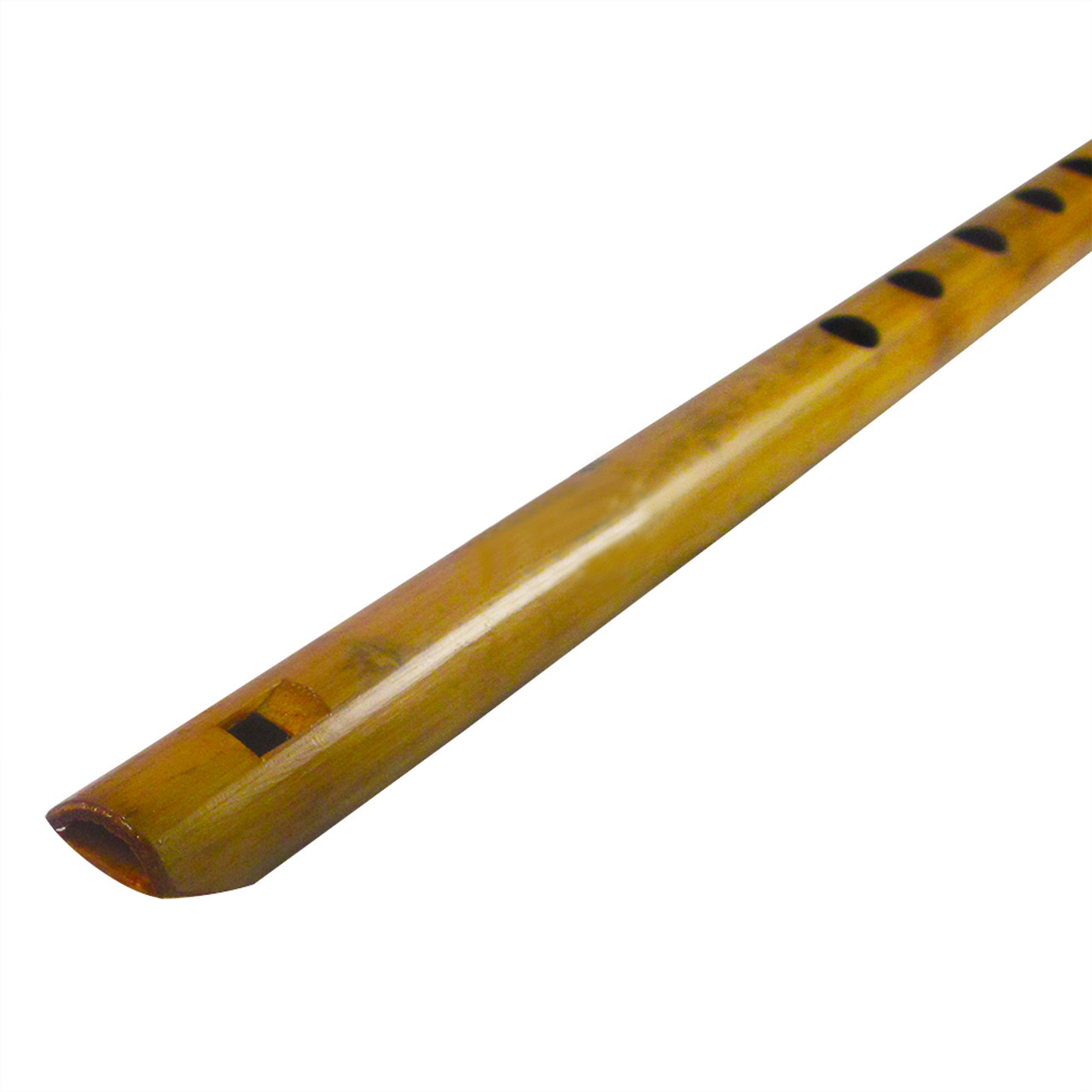 15 Inches Long Handcrafted Bamboo Wooden Flute Indian Bansuri Key Note B Front Mouth Musical Instrument For Musicians Traditional Handmade Indian