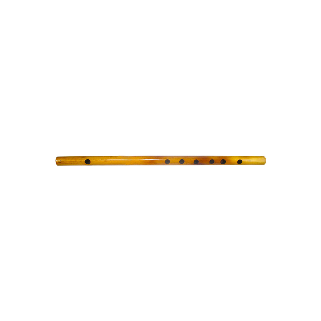 """17"""" Inches Long Handcrafted Bamboo Wooden Flute Indian Bansuri Key Note 'G'  Side Mouth - Image 3"""